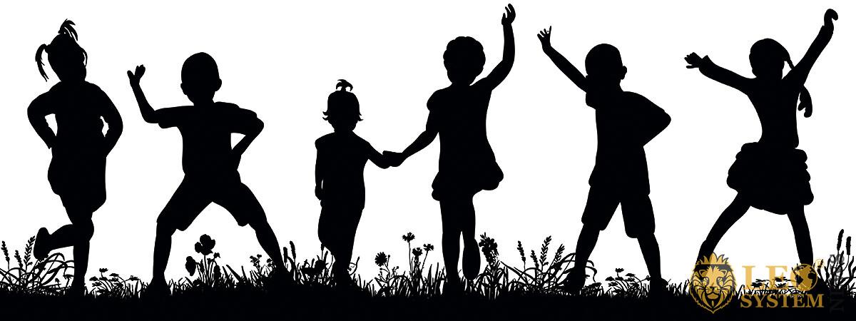 Image of cheerful children