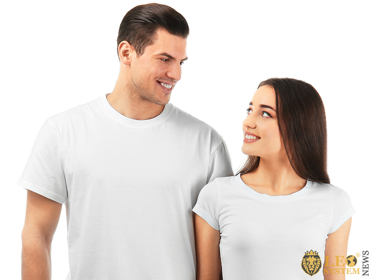 Image of a couple in love